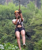 2-Way Zip-Lining Activity