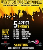 5 Artist 5 Fridays: Party all Night to EDM Beats