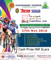 5th Chandigarh Annual Cyclothon 2016