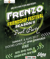 Frenzo Friendship pool Party Festival