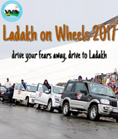 Ladakh On Wheels 2017