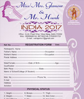 Miss/Mrs. Glamour and Mr. Hunk india 2017