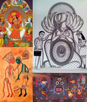 Art Exhibition: Satrangi