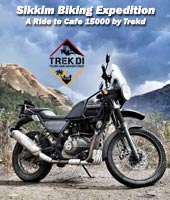Sikkim Biking Expedition - A Ride to Cafe 15000 by Trekd