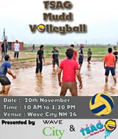 TSAG Mud Volleyball