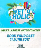 Wet O Holic India's Largest Water Concert