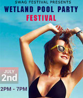 Wetland Pool Party Festival 2017