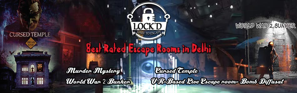 LOCK D - Live Escape Game