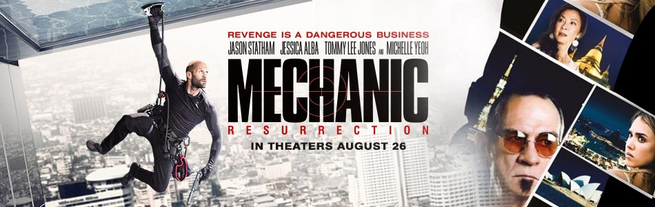 Mechanic: Resurrection (2D) (Hindi Dubbed)