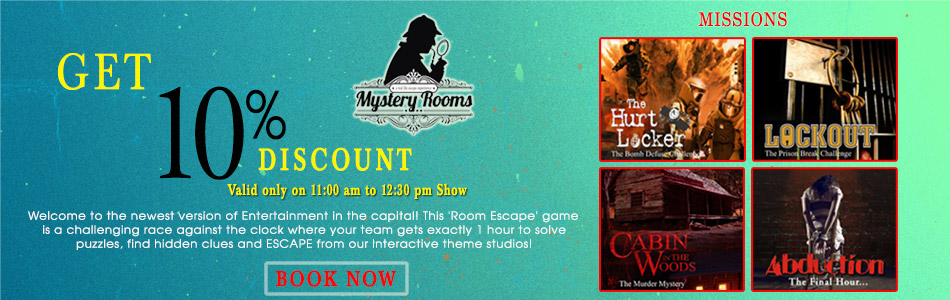 Delhi First Live Escape Game