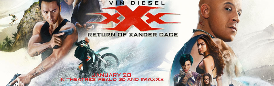 XXX: The Return of Xander Cage (3D) (English)