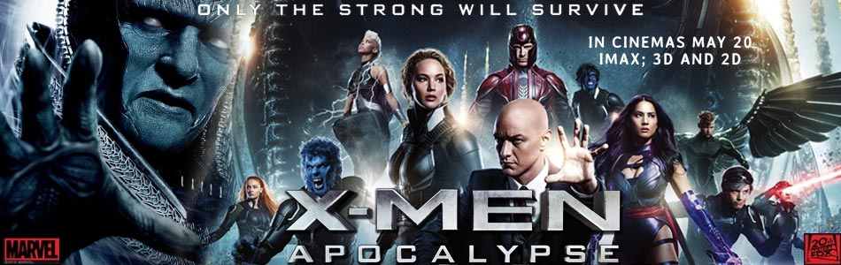 X-Men: Apocalypse (English) (3D)